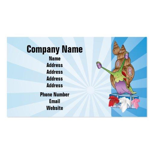 Cute Snail Business Card