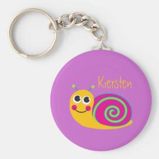 Cute Snail Keychain