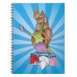 Cute Snail Moving House Notebook