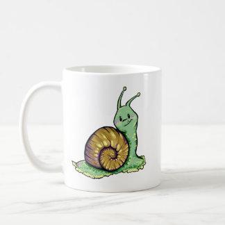 Cute Snail Classic White Coffee Mug
