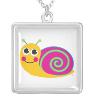 Cute Snail Necklace