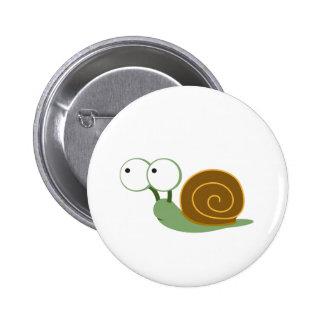 Cute Snail` Pinback Button
