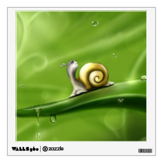 Cute Snail Wall Sticker
