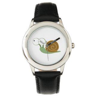 Cute Snail` Wrist Watch