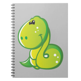 Cute Snake Spiral Note Book