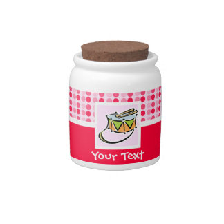Cute Snare Drum Candy Jar