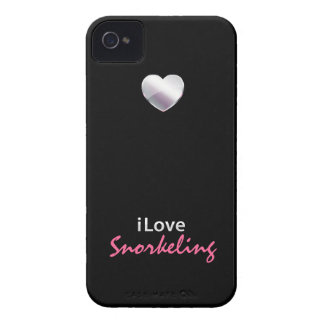 Cute Snorkeling iPhone 4 Cases