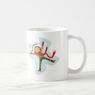 Cute Snow Angel Girl Coffee Mug