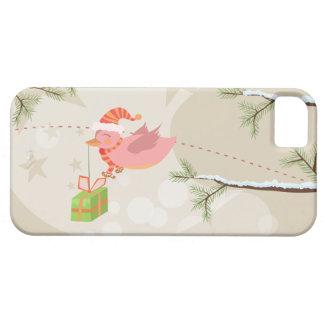 Cute Snow Bird Christmas Case