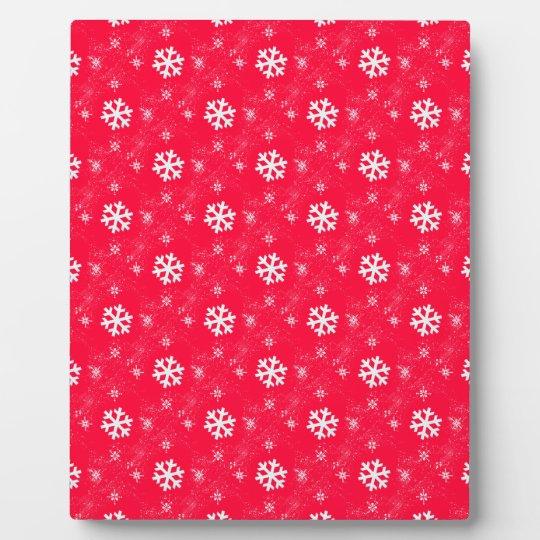 Cute Snow Flakes Plaque