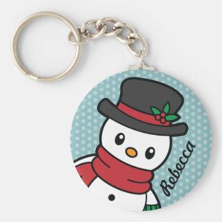 Cute Snow Pals keychain