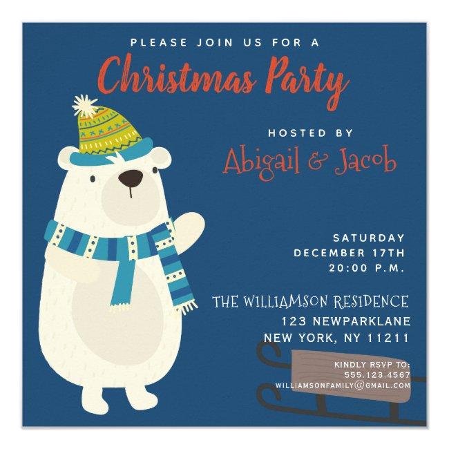 Cute Snowbear - Christmas Party