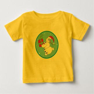 Cute Snowman Baby's 1st Christmas Creeper ,T-Shirt