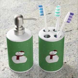 snowman bathroom sets. Cute Snowman Bathroom Set Bath Accessory Sets  Zazzle
