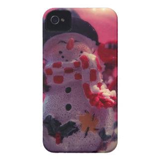 Cute Snowman Case-Mate iPhone 4 Cases