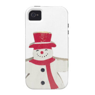 cute snowman Christmas gift iPhone 4/4S Covers