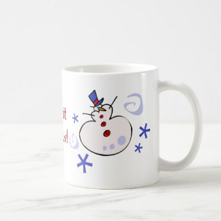 Cute Snowman Christmas Mug