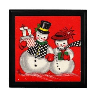 Cute Snowman Couple