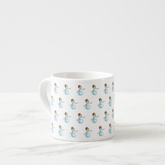 Cute Snowman Espresso Cup