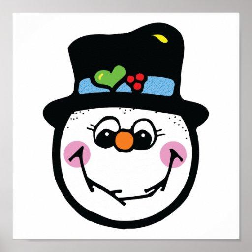 Printable Snowman Faces