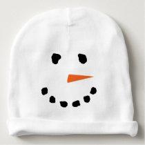 Cute Snowman Face Winter Hat