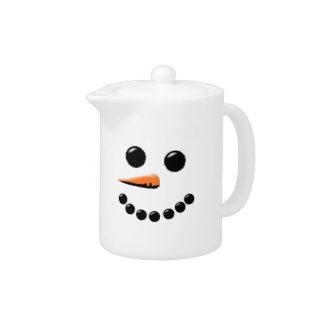 Cute Snowman Face Winter Holiday Snowmen Xmas