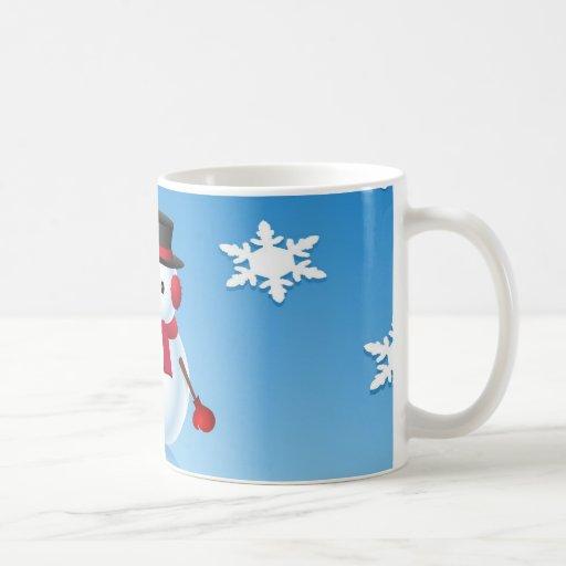 Cute Snowman Gift Mug