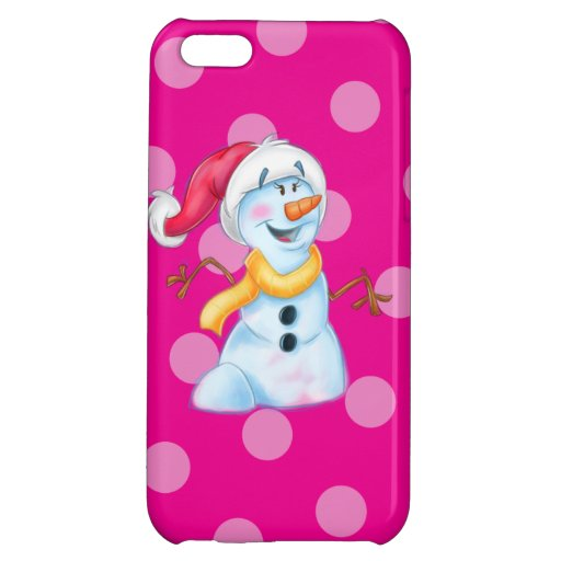 cute cases for iphone 5c snowman phone for iphone 5c zazzle 16848