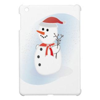 Cute Snowman iPad Mini Cases