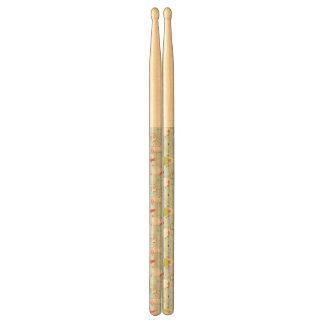 Cute Snowman Pattern Drum Sticks