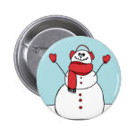 Cute Snowman Pin