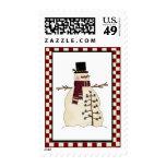 Cute snowman Stamp