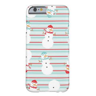 Cute Snowman Winter Design iPhone 6 case
