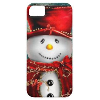Cute snowmans - snowman illustration iPhone SE/5/5s case