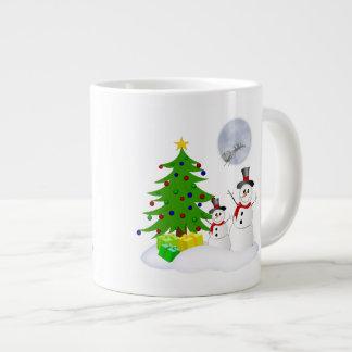 Cute Snowmen 20 Oz Large Ceramic Coffee Mug