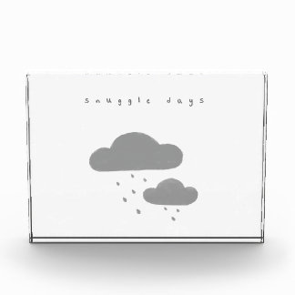 Cute Snuggle Days Acrylic Plaque Acrylic Award