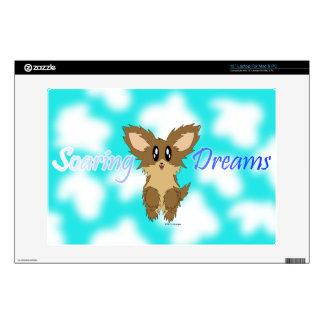 Cute Soaring Dreams Puppy Dog Laptop Skin