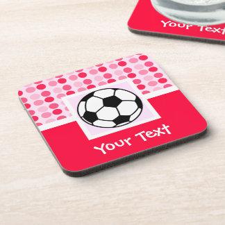 Cute Soccer Ball Drink Coaster