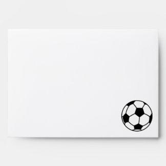 Cute Soccer Ball Envelopes