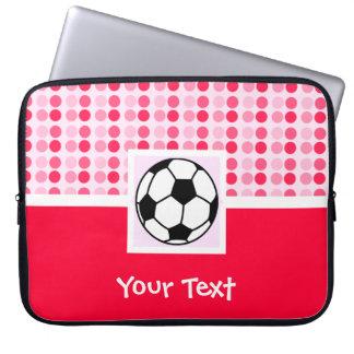 Cute Soccer Ball Laptop Computer Sleeve
