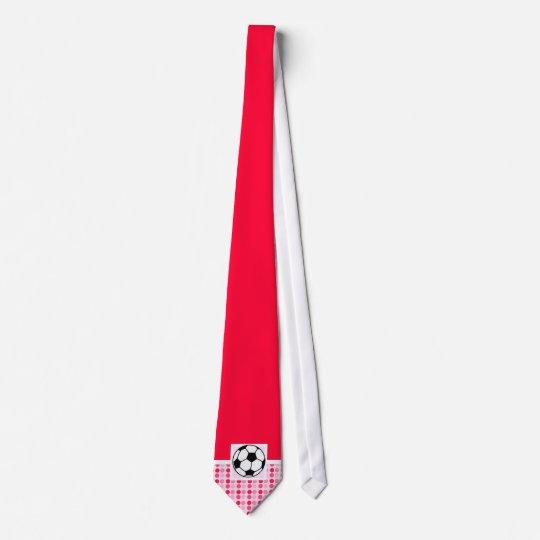 Cute Soccer Ball Neck Tie