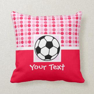 Cute Soccer Ball Throw Pillows
