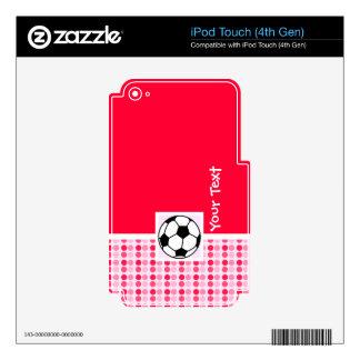 Cute Soccer Ball iPod Touch 4G Skin