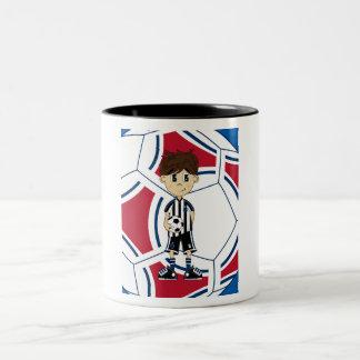 Cute Soccer Boy Mug