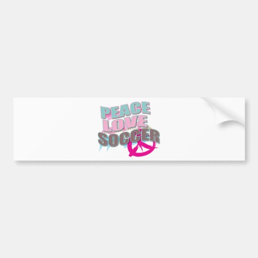 Cute Soccer Gifts for soccer players Car Bumper Sticker
