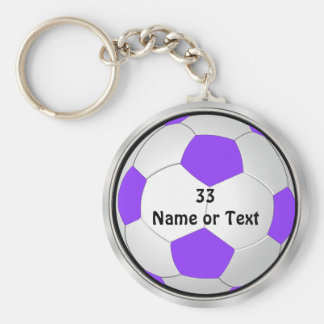 Cute Soccer Party Favors for Girls, Keychains