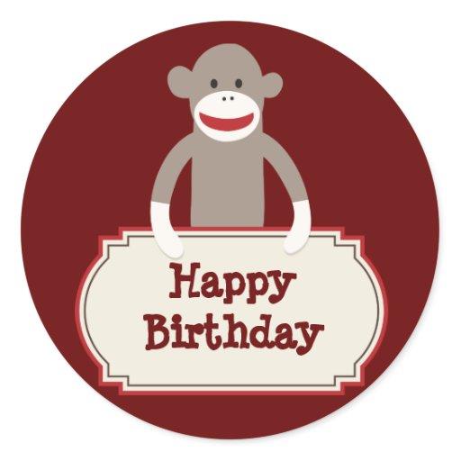 Sock Monkey Invites was awesome invitation design