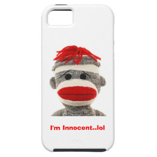 CUTE Sock Monkey I Phone 5 case iPhone 5 Covers