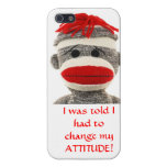 CUTE SOCK MONKEY iPhone  5 cover iPhone 5 Cover