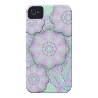 Cute soft fantasy flowers Blackberry bold case